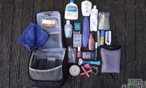 Bike Touring Gear List: Kat's Toilettries