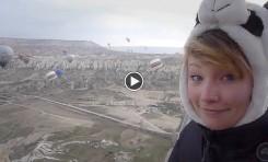 Video: Hot Air Ballooning Around Cappadocia