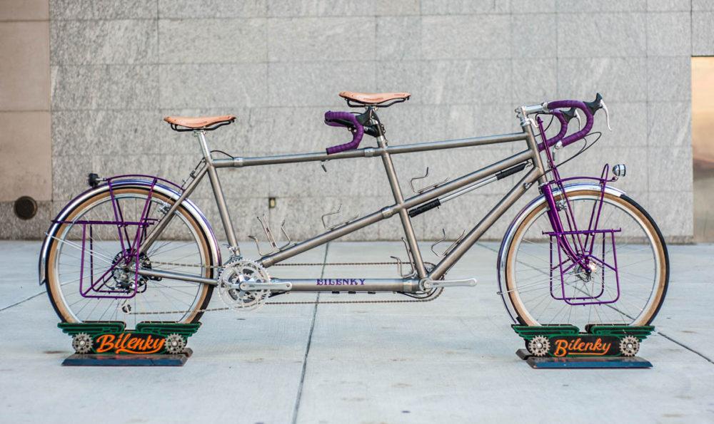 Custom Bilenky Titanium Tandem Touring Bike