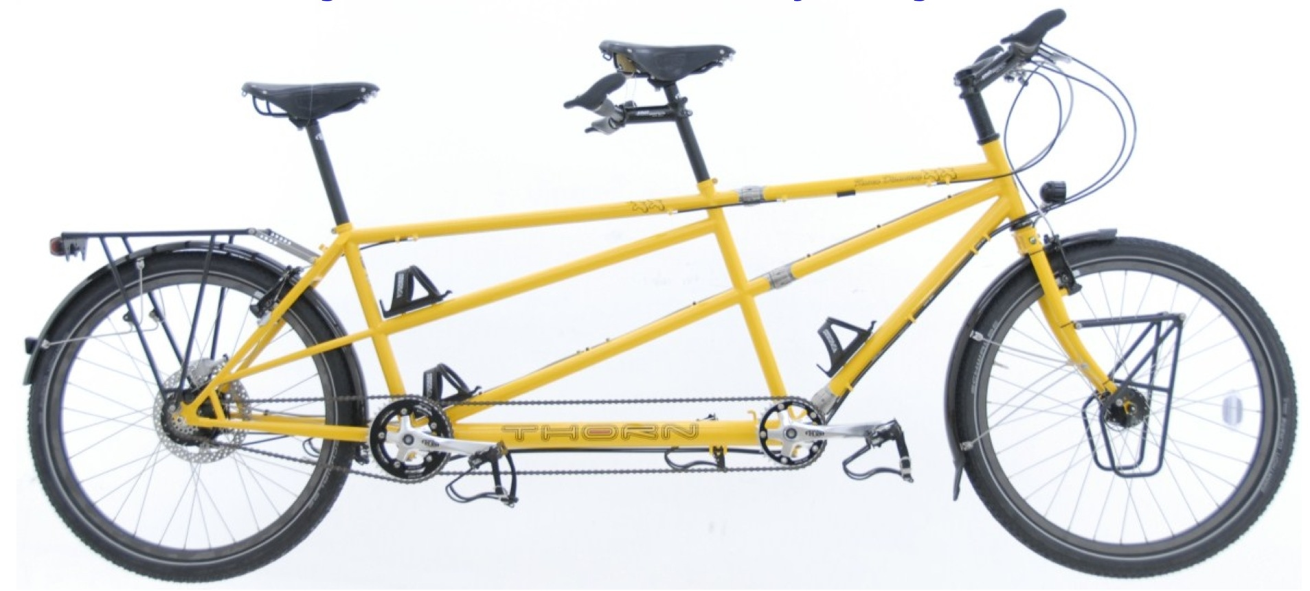 Thorn are renowned for putting together a nice touring tandem.