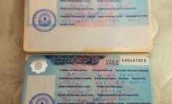 Visa / Border Crossing Information for Central Asia (2013)