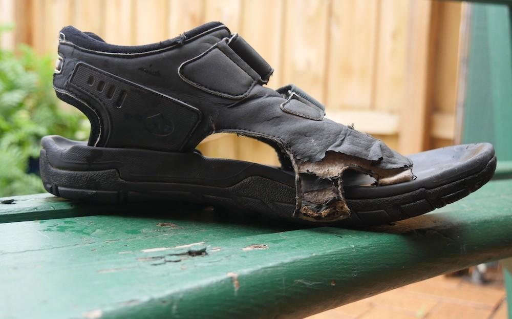Shimano SPD Sandal Broken