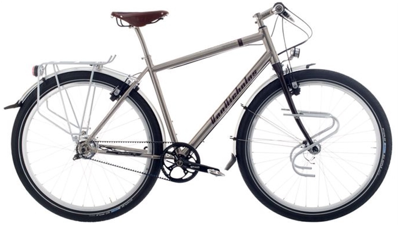Steel Frame Touring Bicycles