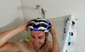 Cleaning Your Helmet... In the Shower!