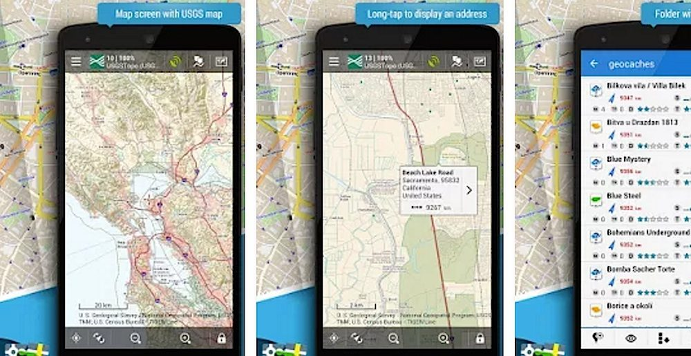 free gps applications