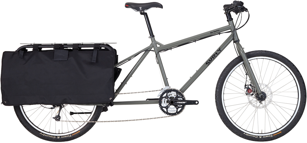 Surly Big Dummy Long Tail Cargo Bike - CyclingAbout