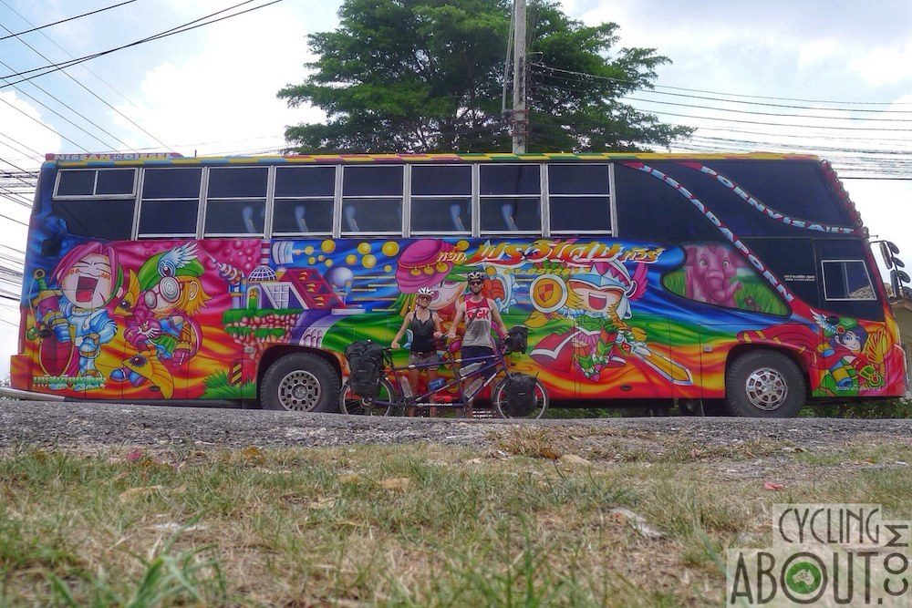 Colourful bus Thailand