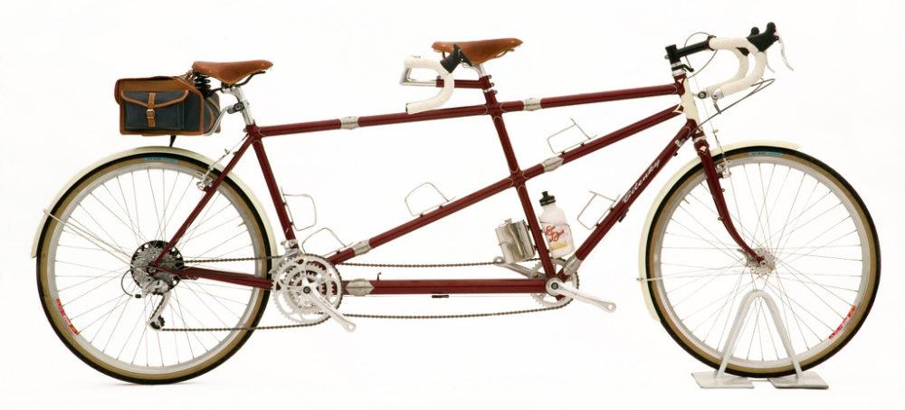 Custom Bilenky Steel Tandem Touring Bike 01
