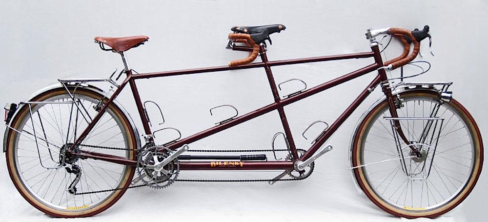 Custom Bilenky Steel Tandem Touring Bike 02