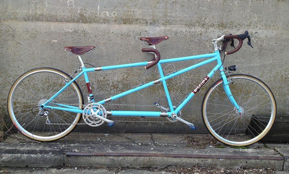 Custom Bilenky Steel Tandem Touring Bike 03