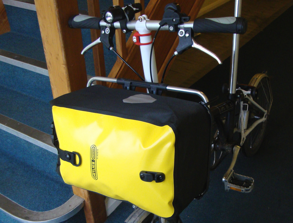 F Lightweight Front Carrier Luggage Block for Brompton Bicycle