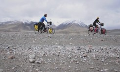 Video: Cycling Central Asia with Pete and Mary