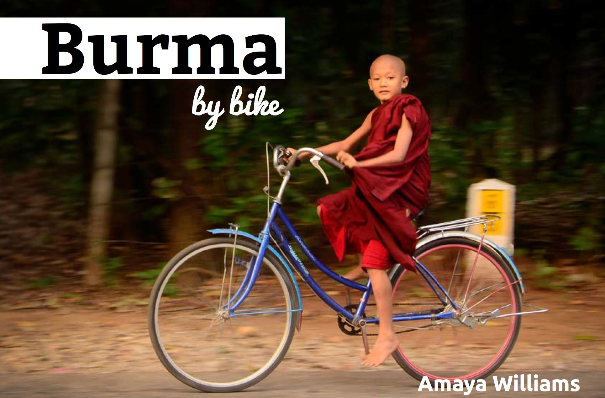 Burma by Bike EBook