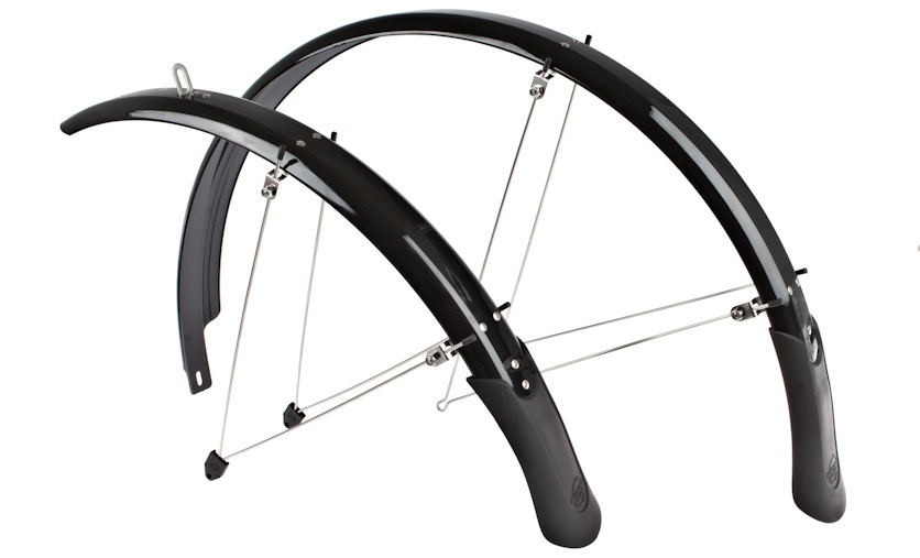 Planet Bike Cascadia fenders are popular due to their longish coverage