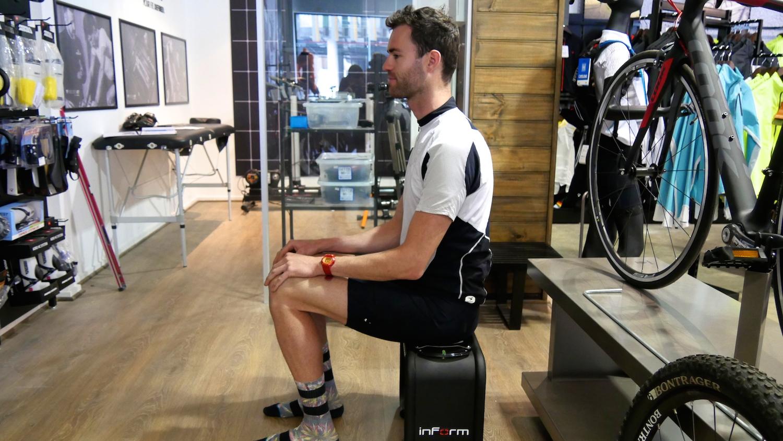 Measuring Sit Bone Width Precision Fit