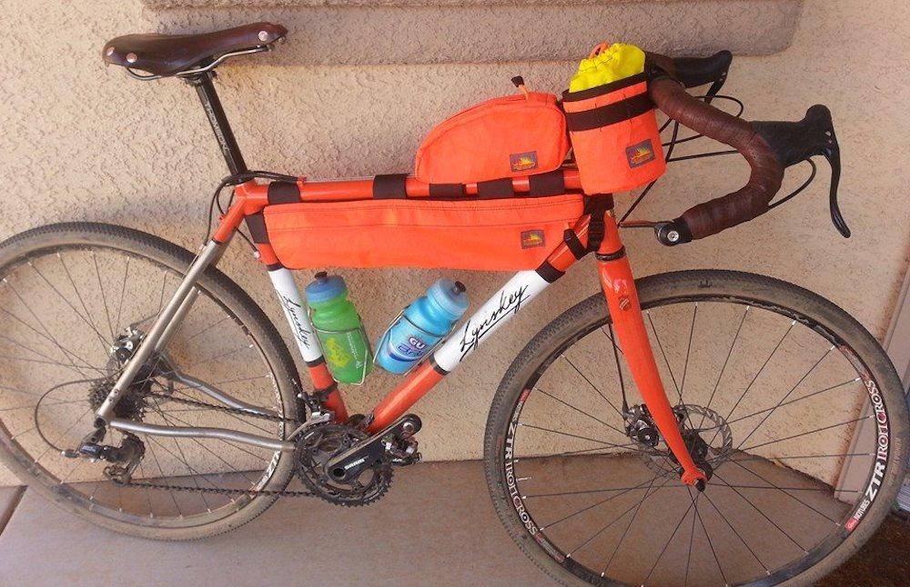 Nuclear Sunrise Stitchworks BikePacking Bags