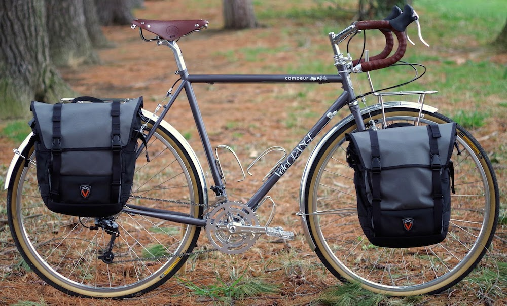 Front Rack For Bicycle Touring