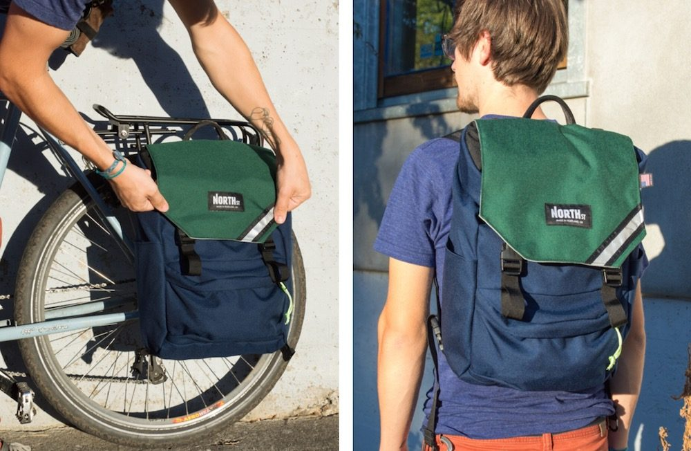 backpack panniers