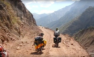 Video: Tadjikistan by CycloLenti (Around the World by Bicycle)