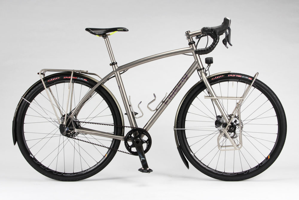 titanium touring bike