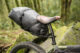 The PDW Bindle drybag rack is a more stable alternative to bikepacking saddle bags.
