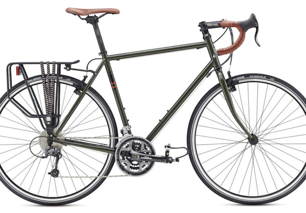 The New 2017 Fuji Touring Bike