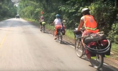 Video: The Bicycle Touring Family That Travelled From Quebec To Central America