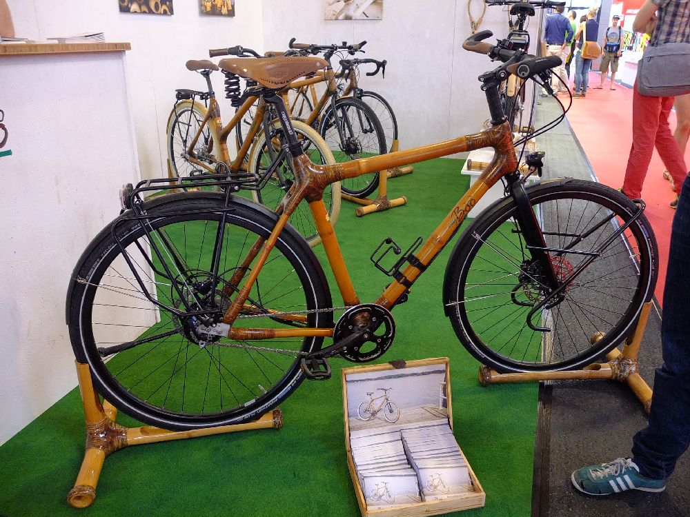 Boo Bamboo Touring Bike