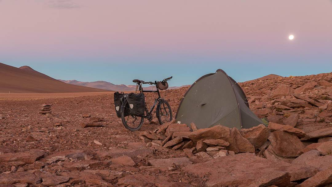 Camping Altiplano Bicycle Touring