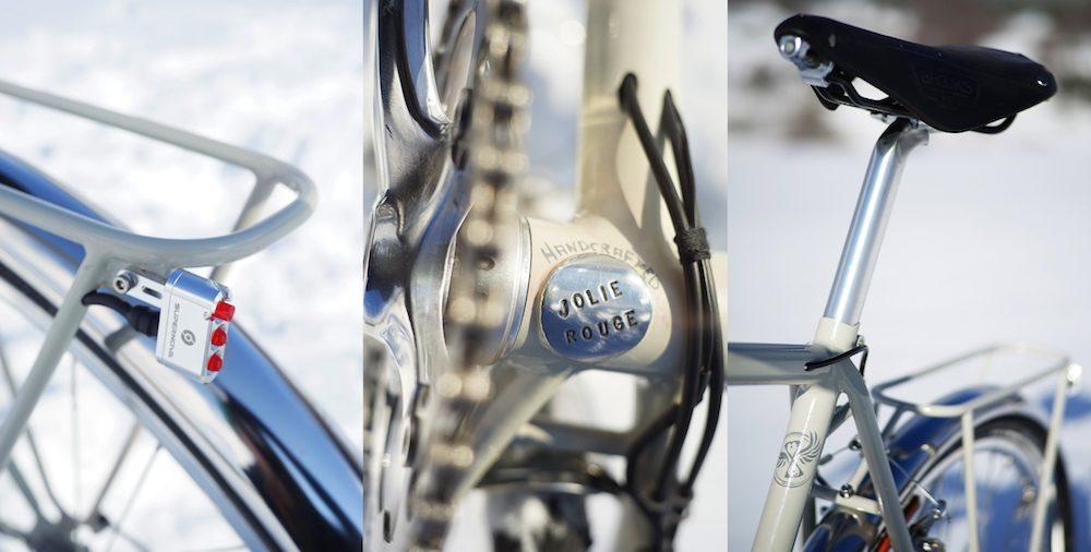 Jolie Rouge Touring Bike