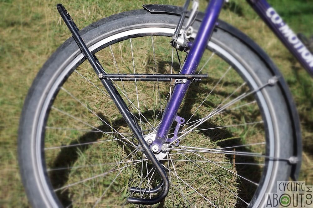 All About Front Racks For Bicycle Touring - CyclingAbout com