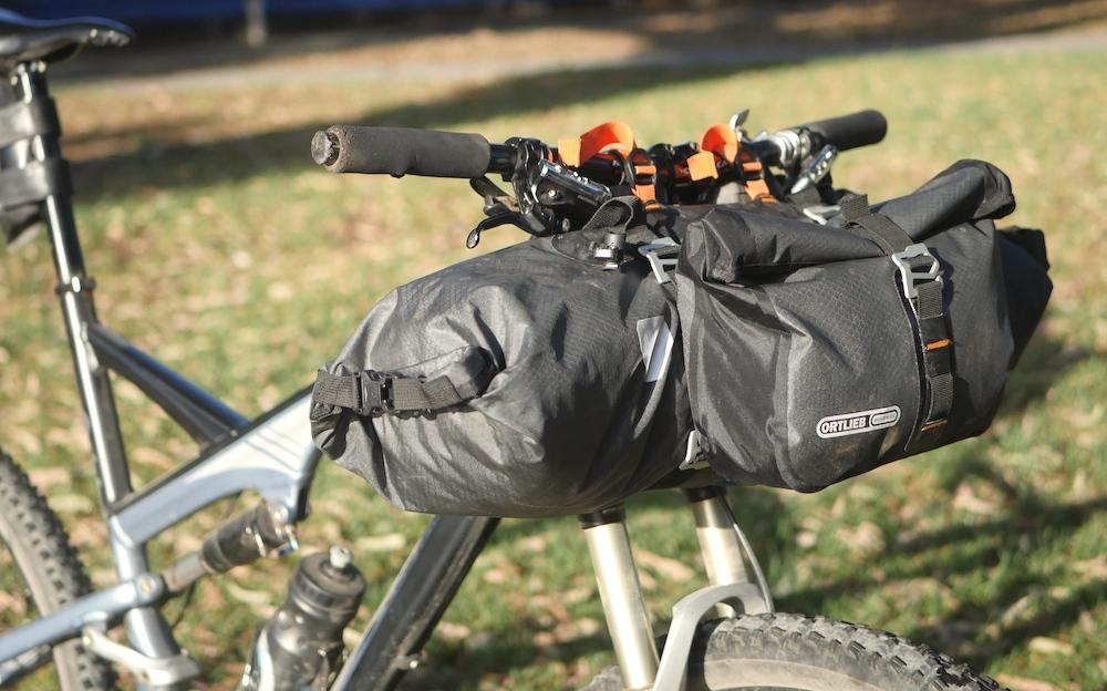 Ortlieb Handlebar Pack Review Long Term Bikepacking Bags