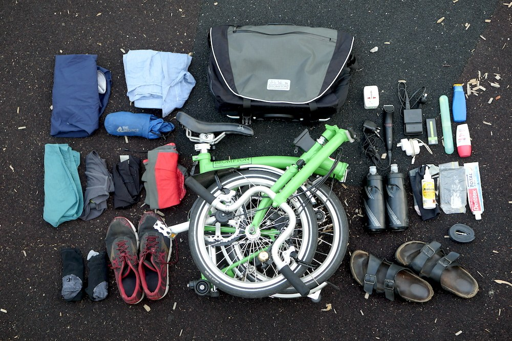 folding bike holiday