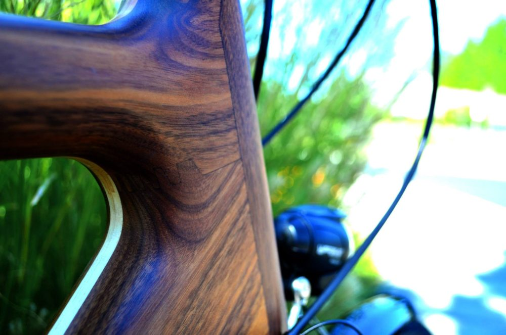 A Wooden Bicycle Renovo Prove That Wood Touring Bike Is Possible Cyclingabout - Renovo Solid Oak Side Table With Storage