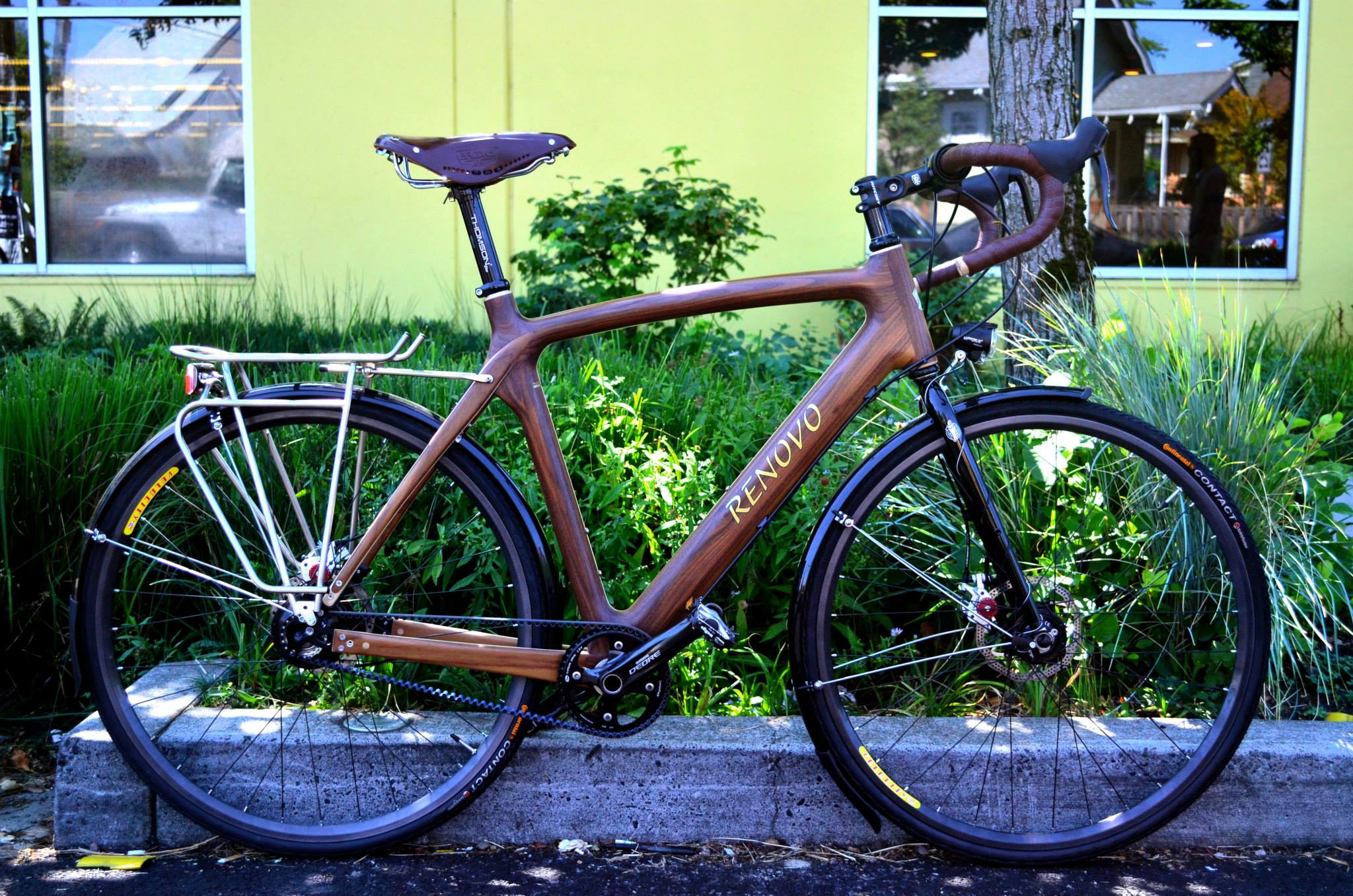 A Wooden Bicycle Renovo Prove That A Wood Touring Bike Is