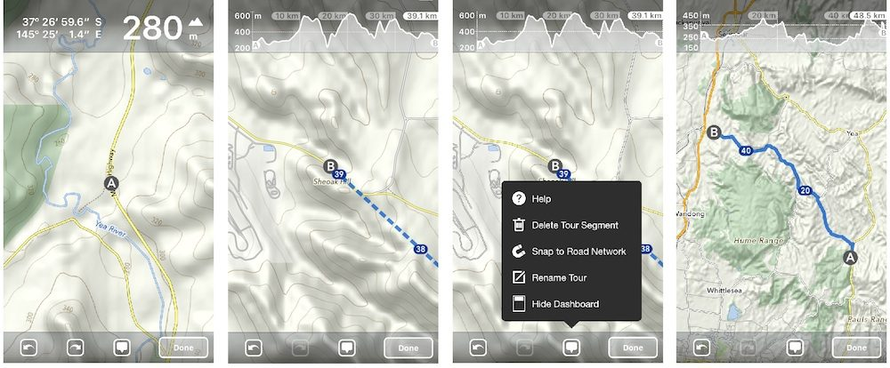 Is MapOut The Best Smartphone Mapping App For Route Drawing And - What's my elevation app