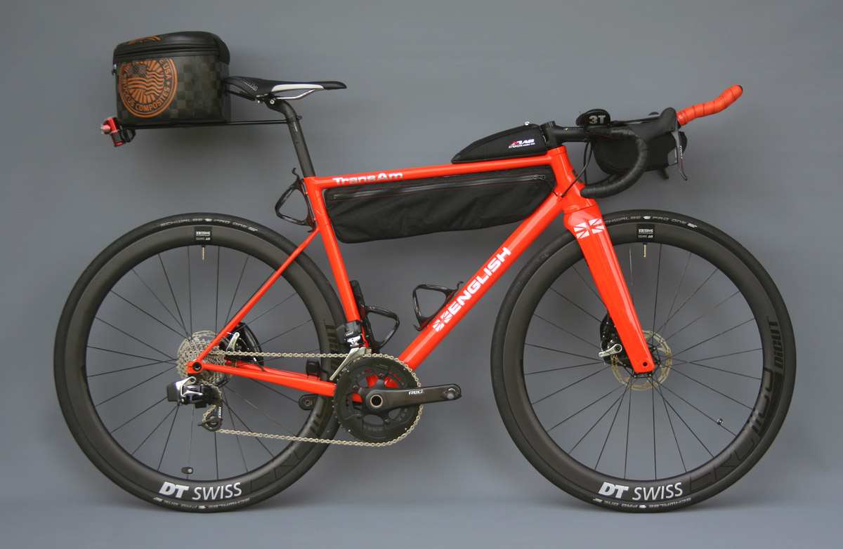 English Cycles Aero Trans Am Bike The Fastest Bikepacking