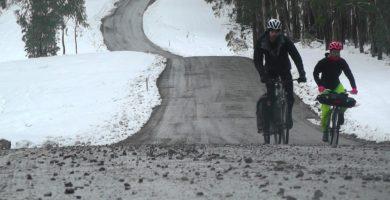 Video: Snow Fixie Tour // Any Bike Is A Touring Bike