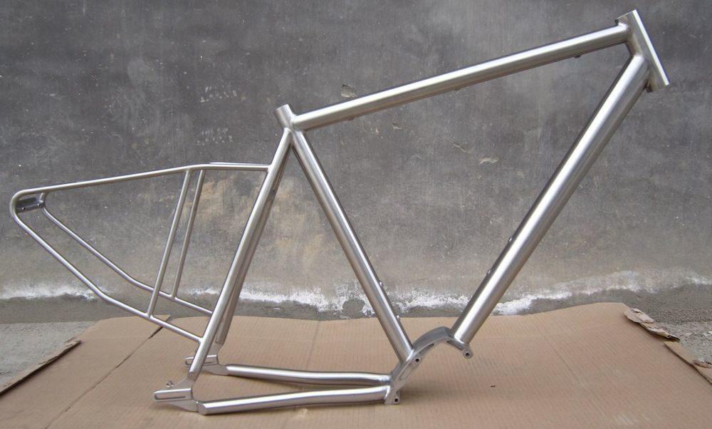 titanium touring bike frame
