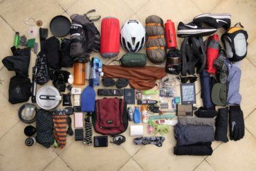 25kg Gear List: CyclingAbout The Americas Over Two Years