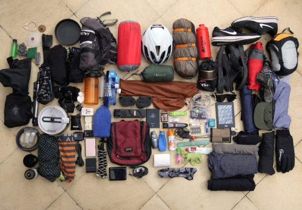22kg Gear List: CyclingAbout The Americas Over Three Years
