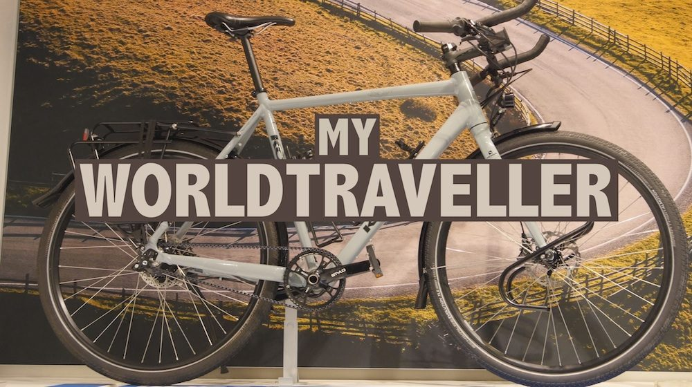 koga worldtraveller touring bike
