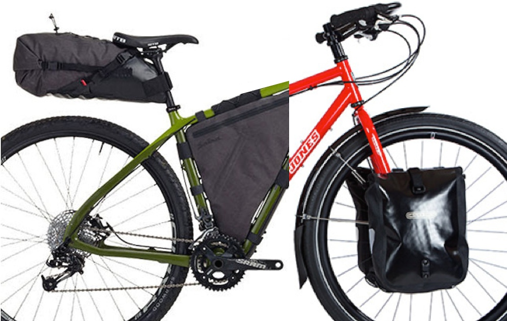 Panniers vs Bikepacking Bags 01