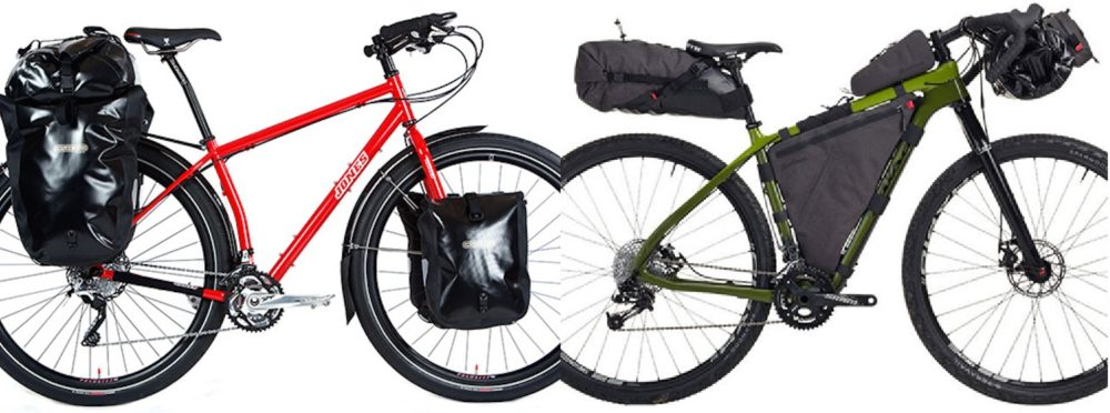 panniers vs bikepacking bags