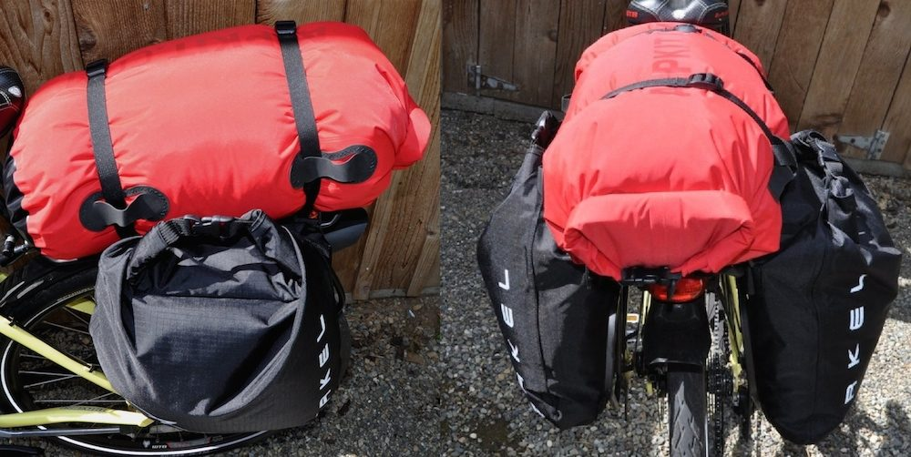 ultralight bicycle touring