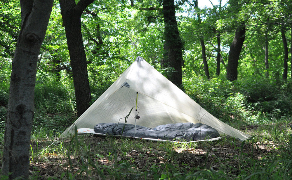 ultralight bikepacking tarp