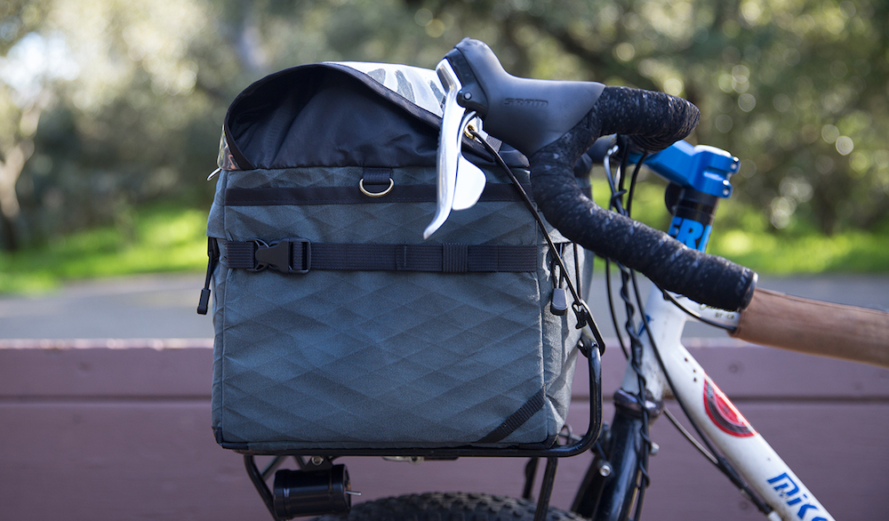 dd588fdb552719 The Adventure Rack Bag is custom-made to suit different porteur rack models  by Pass and Stow, Velo Orange, Soma, Surly, Origin8, Specialized and  Rawland.