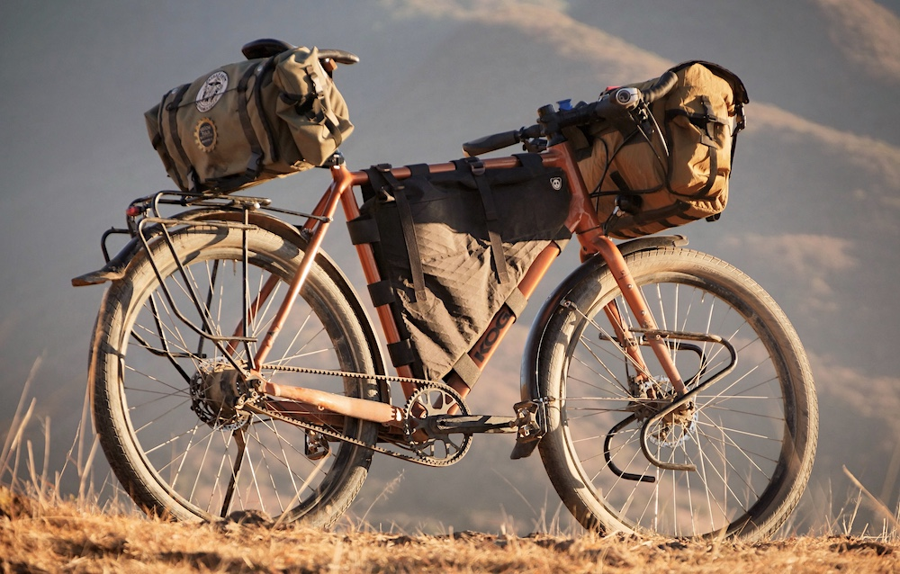 All About High-Rider Saddlebags, Rolltop Bags & Basket Bags - CyclingAbout.com