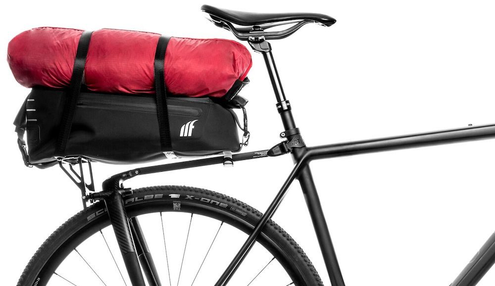 Blue Bird Shopping Bag 20 L Load Handlebar Basket Bicycle Basket Handlebar Bag Black.