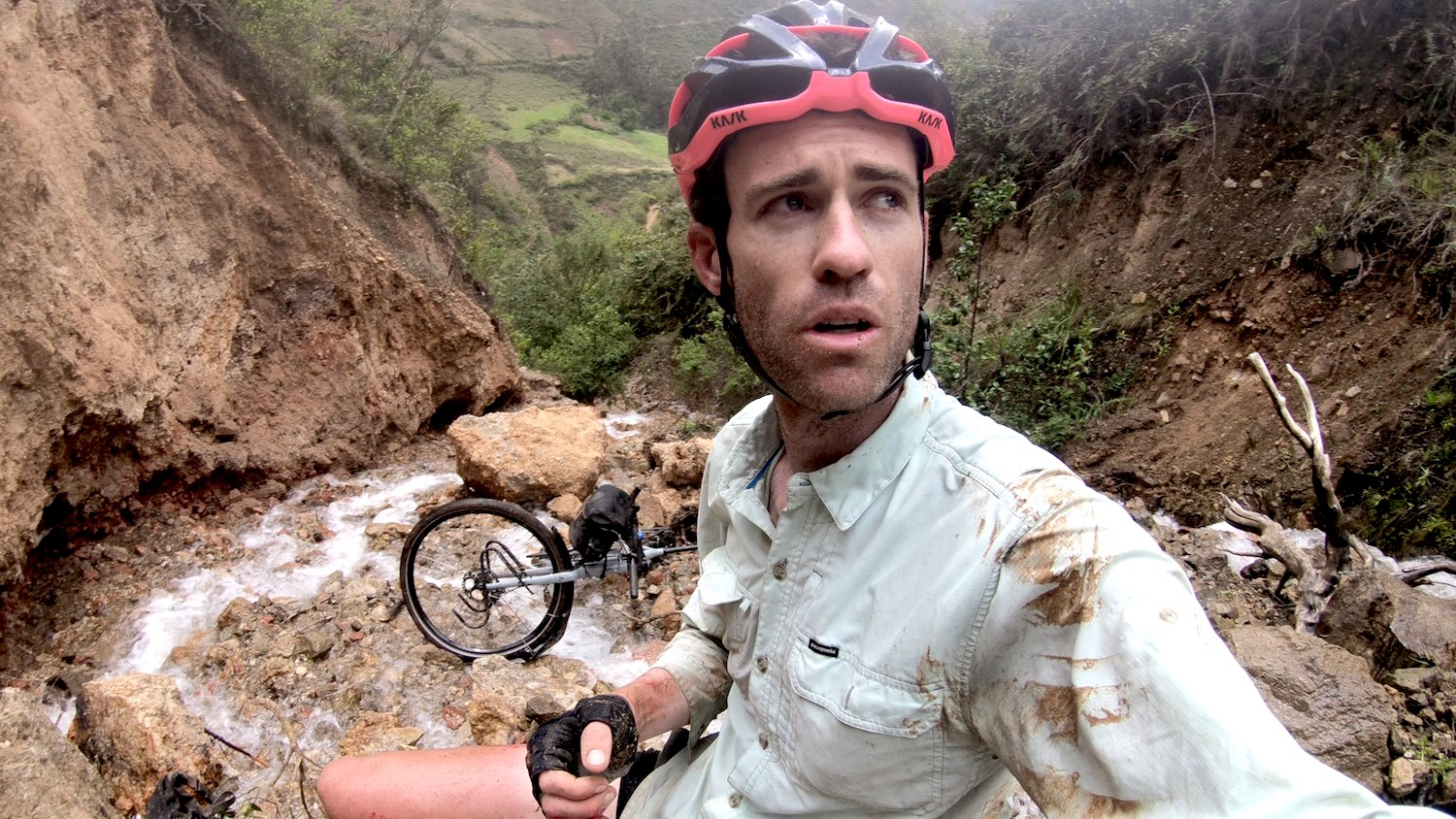 Bike Accident Peru 2